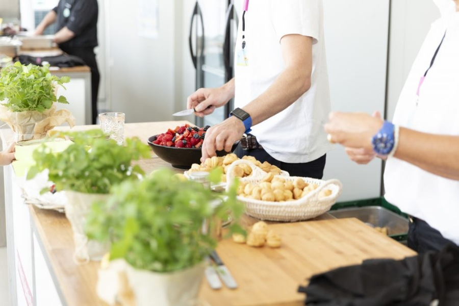 Live-Cooking Catering Hamburg