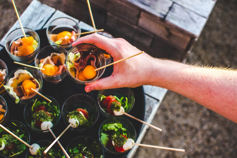 Fingerfood-Buffet Catering